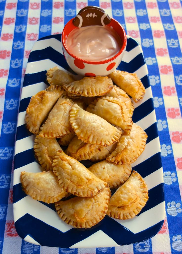 Buffalo Chicken Empanadas {Football Friday} | Football ...