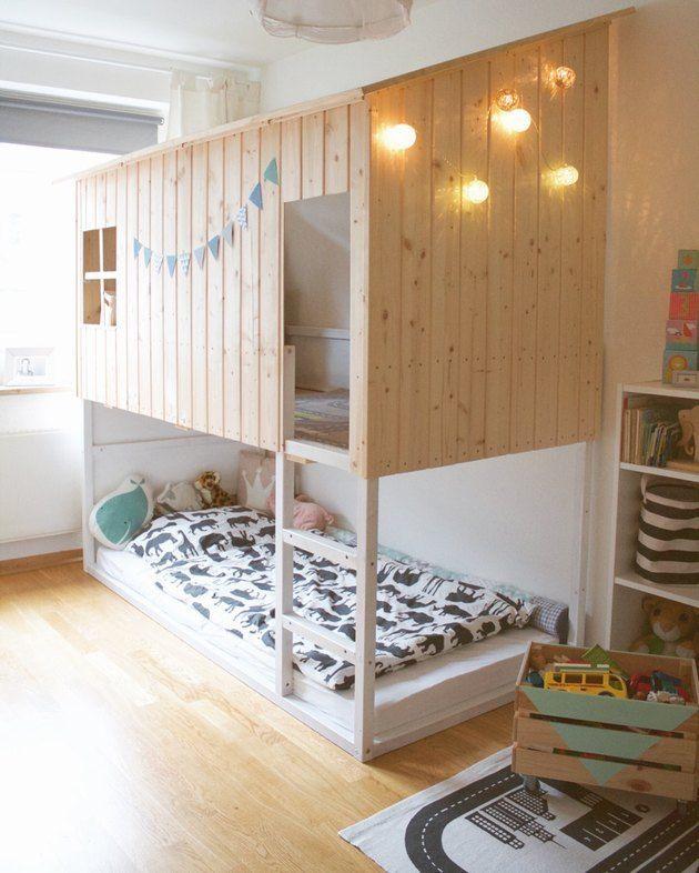Most Current Photo 5 Geniale Moglichkeiten Ein Ikea Kura Bett Zu