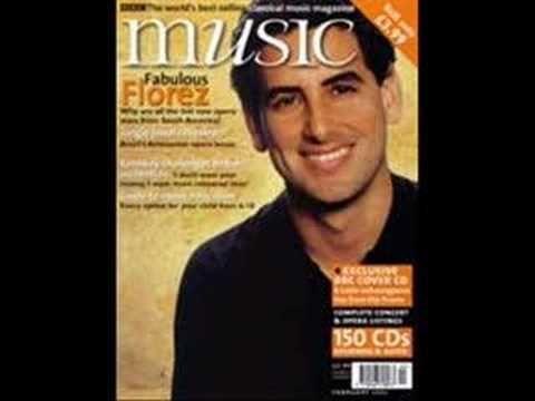 Fina Estampa, por Chabuca Granda. Arreglos Juan Diego Florez. En la guitarra el maestro David Galvez.