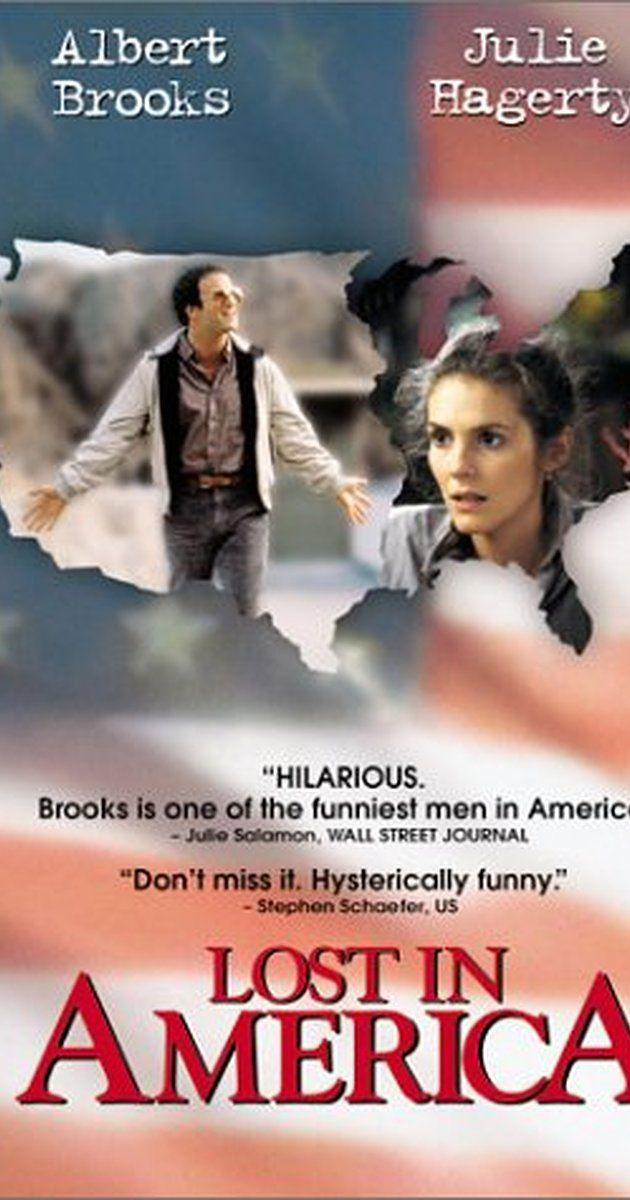 Directed by Albert Brooks.  With Albert Brooks, Julie Hagerty, Sylvia Farrel, Tina Kincaid. A husband and wife in their 30s decide to quit their jobs, live as free spirits and cruise America in a Winnebago.