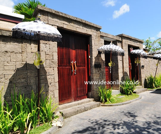 Balinese Beautiful Concept