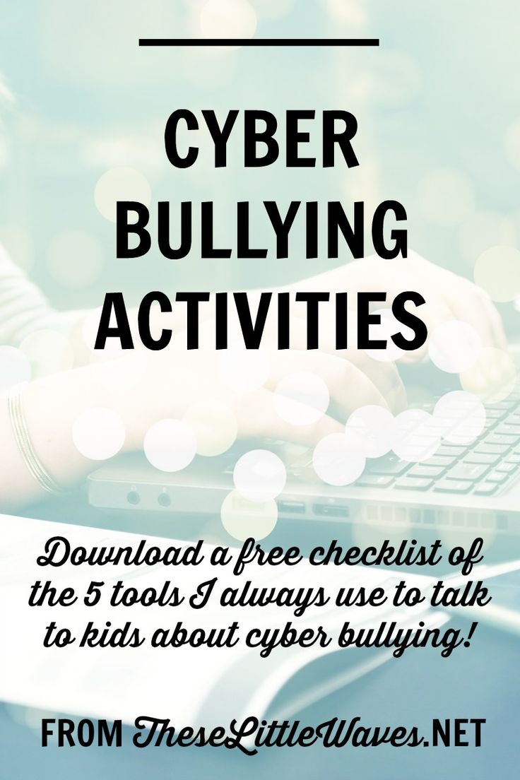 Cyber bullying activities are so important to have on hand because our kids need to know so much about this topic, and honestly, I feel like I am learning right alongside my students! So this article is packed with tons of details about what it's like to be cyber bullied, how to help someone who is cyber bullied, and so many ideas for how to talk about cyber bullying with kids and students. SO IMPORTANT. Bonus: There is a free download of a checklist of free resources to use to springboard…