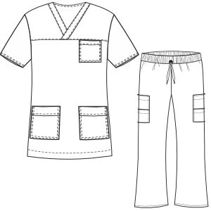 Scrubs sewing patterns Más