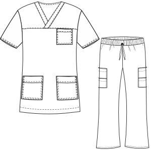 Scrubs sewing patterns