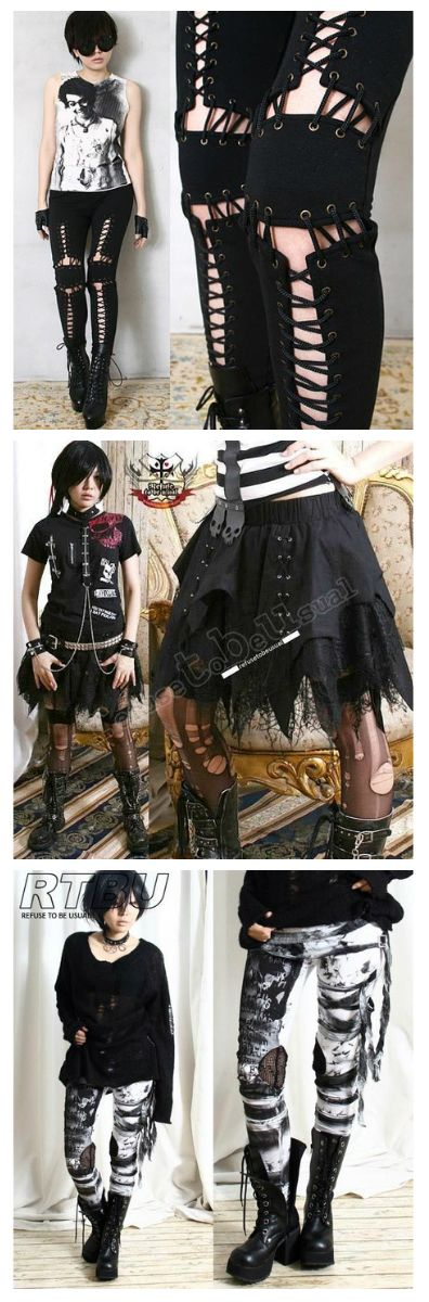 Shop cyberpunk and visual kei clothes at RebelsMarket