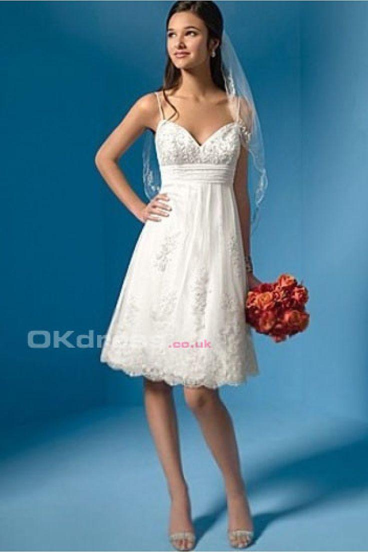 27 best brides dress images on Pinterest   Wedding frocks, Short ...