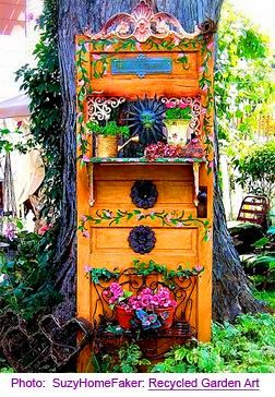 845 best bohemian rhapsody images on pinterest bedroom for Upcycled garden projects from junk