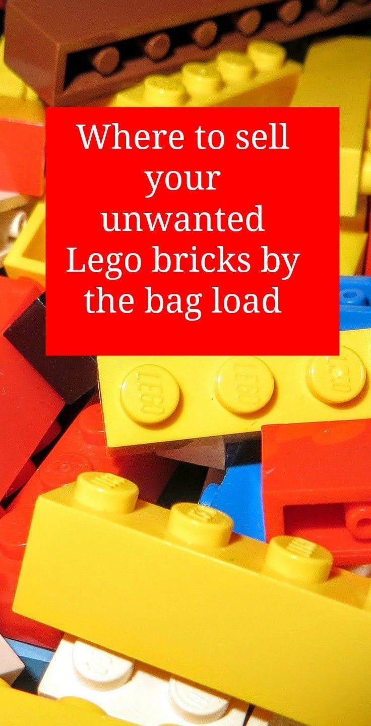 How to sell your Lego with Zapper Do you have lots of unwanted Lego that is not in sets. here is how to sell Lego by the bag load as it is counted by weight. Declutter and make some money at the same time!