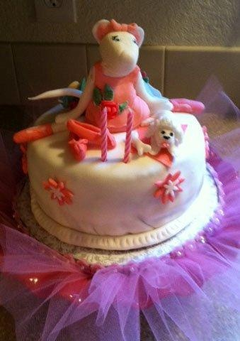 19 best images about cake angelina ballerina on Pinterest ...
