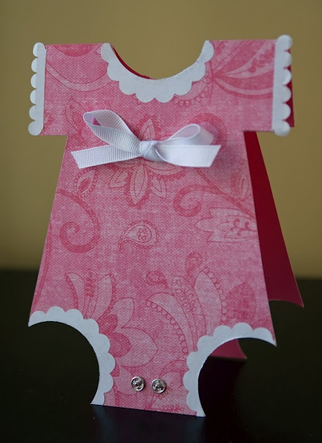 Such a cute baby shower card idea personal crafts for Baby shower paper crafts