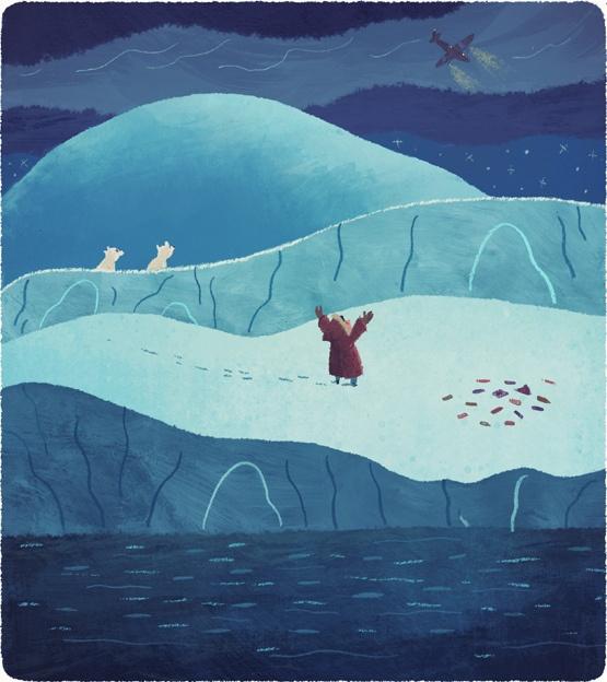 "from ""A Night Among Polar Bears"" by Chuck Groenink"