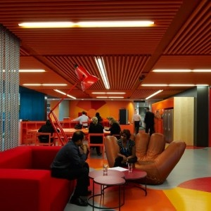 Anz Center: Excellent Colorful Creative Office In Melbourne:  Anz Center Melbourne Photo 11: ANZ Business Center Creative Colorful Office Spaces Red