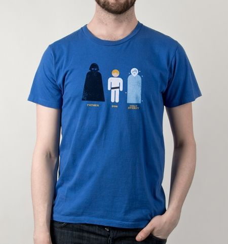 Father, Son, Holy Spirit T-Shirt - Star Wars T-Shirt is $12 today at Busted Tees!
