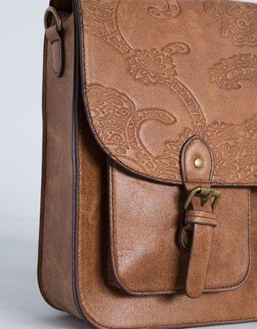 Bershka Hungary - Embossed College style backpack