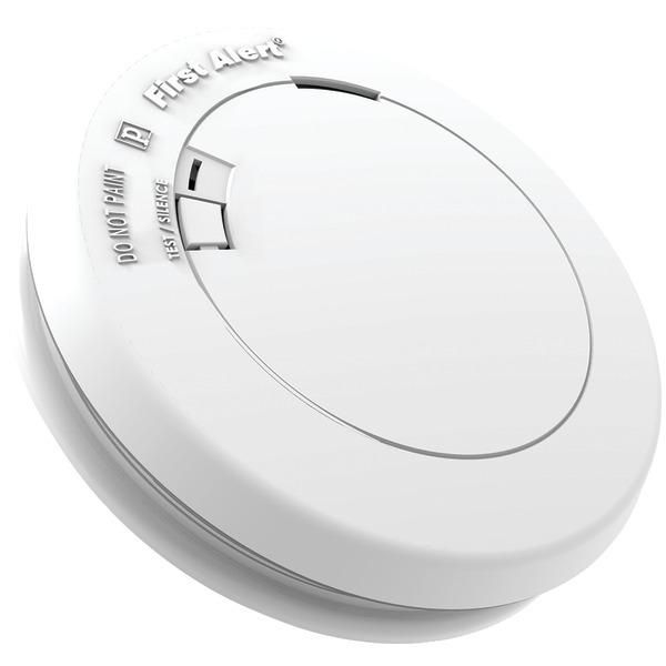 First Alert R Pr710 10 Year Sealed Battery Photoelectric Smoke Alarm Smoke Alarms Fire Alarm Emergency Lighting