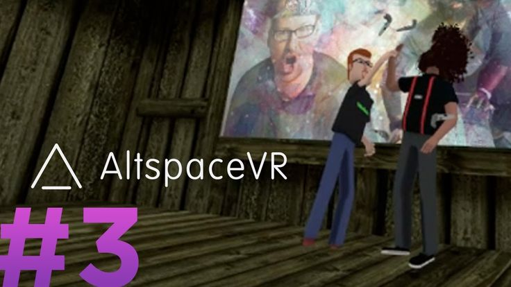 Justin Roiland (from Rick and Morty) and Reggie Watts visit virtual reality