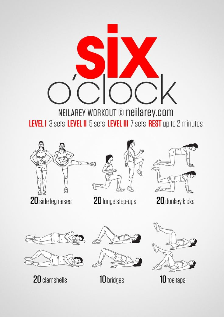 Instructions: Repeat each move with no rest in between until the set is done, rest up to 2 minutes and repeat the whole set again 3, 5 or 7 times depending on your fitness level. Download High Resolution .PDF poster