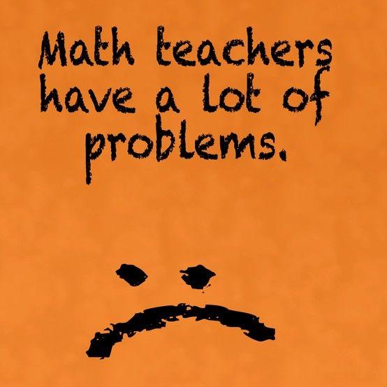 Math joke.