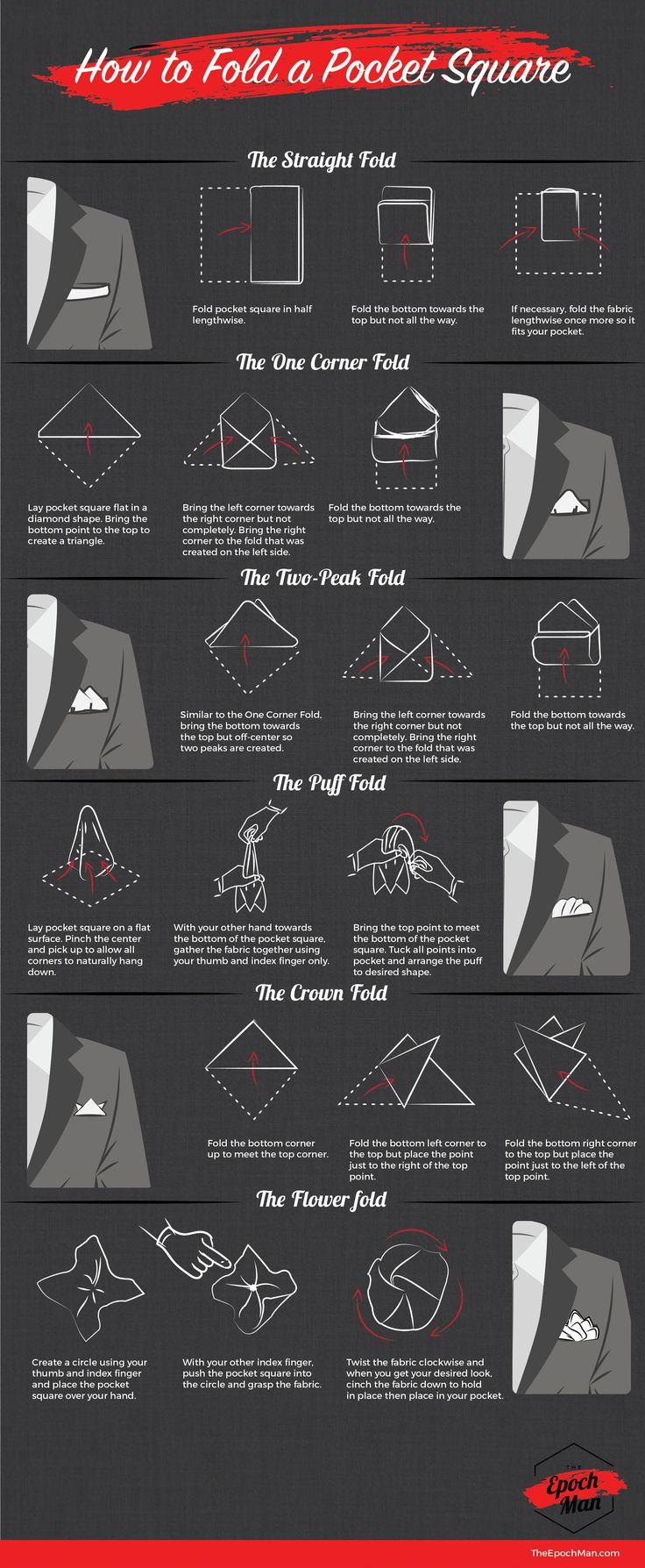 Has querido usar un pañuelo pero no sabes como doblarlo? Ahora lo podrás intentar ;)