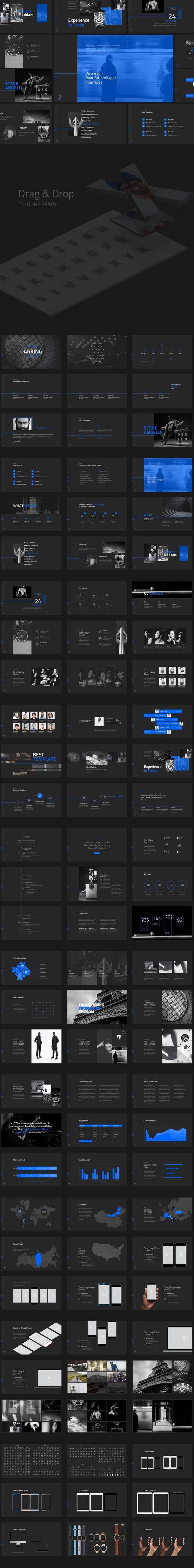 Darking-Minimal Powerpoint Template