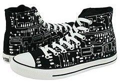 Chuck Taylor All Star Circuit Board Hi Black & White