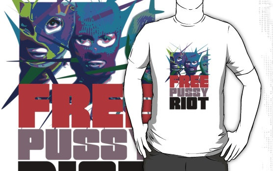 FREE PUSSY RIOT by karmadesigner