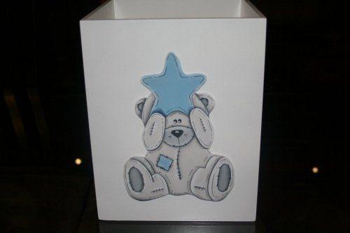 Dustbin - Polar bear (blue)