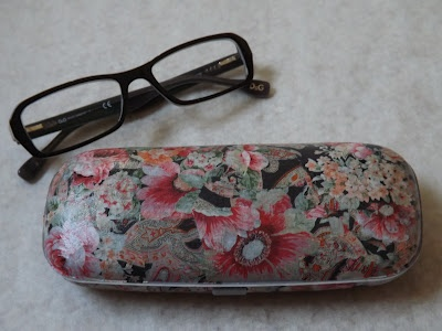 Decopatched Spectacle Case