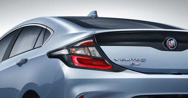 China's Buick Velite 5 Looks Like A Repackaged Chevy Volt After All #Buick #Chevrolet_Volt