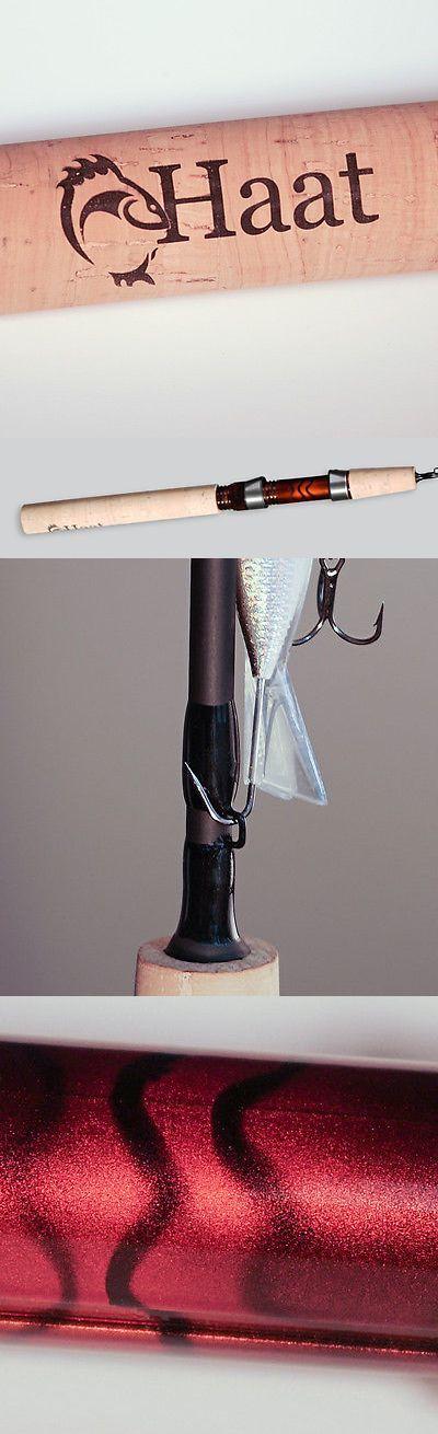 Ice Fishing Rods 179947: Haat Premium Fishing Rods...45 Medium Heavy Casting Ice Fishing Rod BUY IT NOW ONLY: $89.95