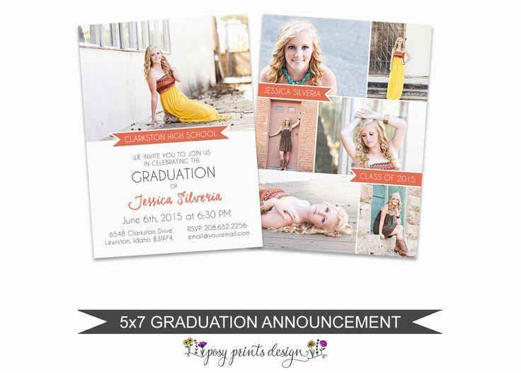 Best 25+ Graduation announcement template ideas on Pinterest - announcement template