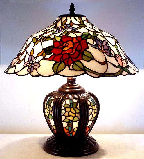 I love this mission tiffany lamp
