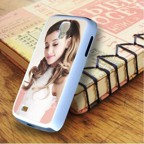 Ariana Grande Beautiful Smile Samsung Galaxy S4 Case