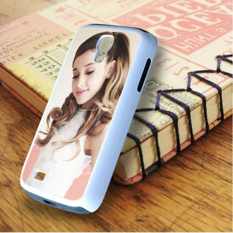 Ariana Grande Beautiful Smile Samsung Galaxy S4 Case
