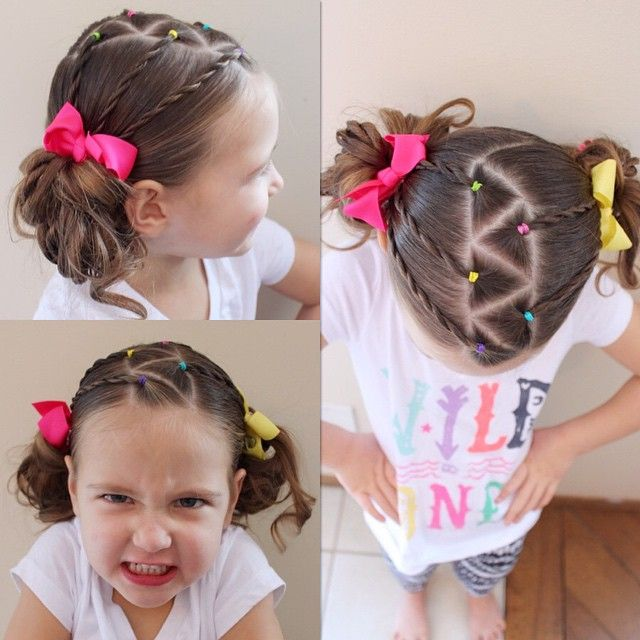 """""""C's shirt says wild one and it describes her perfectly. She is spunky and full of energy."""""""