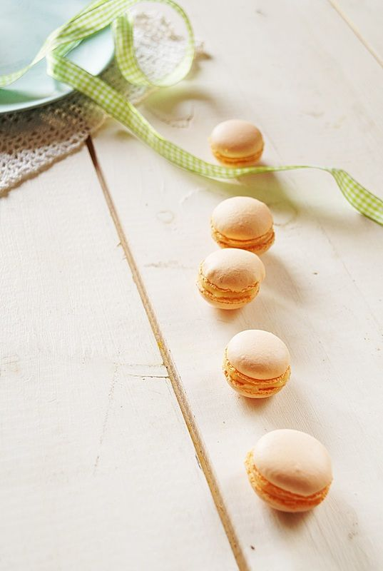 Amazing, and delicious macarons with orange cream! Try this recipe on my blog www.ciastecznik.weebly.com or follow me on facebook.com/ciastecznik