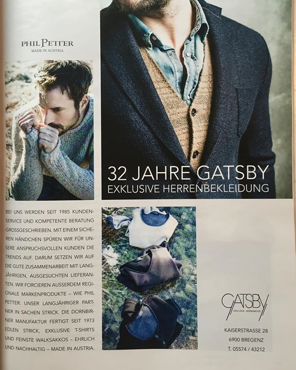 Thanks to Bertram Malang from #gatsby for being a great customer for many years! #philpetter #knitwear #mensfashion #lifestyle #madeinaustria  #menswear #menwithstyle #storyofphil #manufactory #authentic #luxury #sustainable #honest #highquality #quality #alpine #austria #bestpartnerever