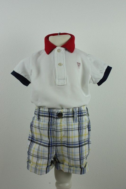 Mein Tommy Hilfiger Shorts Kurze Hose Bermuda Weiß 74 6-9M NP55€ von Tommy Hilfiger! Größe 74 für 17,50 €. Schau´s dir an: http://www.mamikreisel.de/kleidung-fur-jungs/kurze-shorts/38254846-tommy-hilfiger-shorts-kurze-hose-bermuda-weiss-74-6-9m-np55eu.