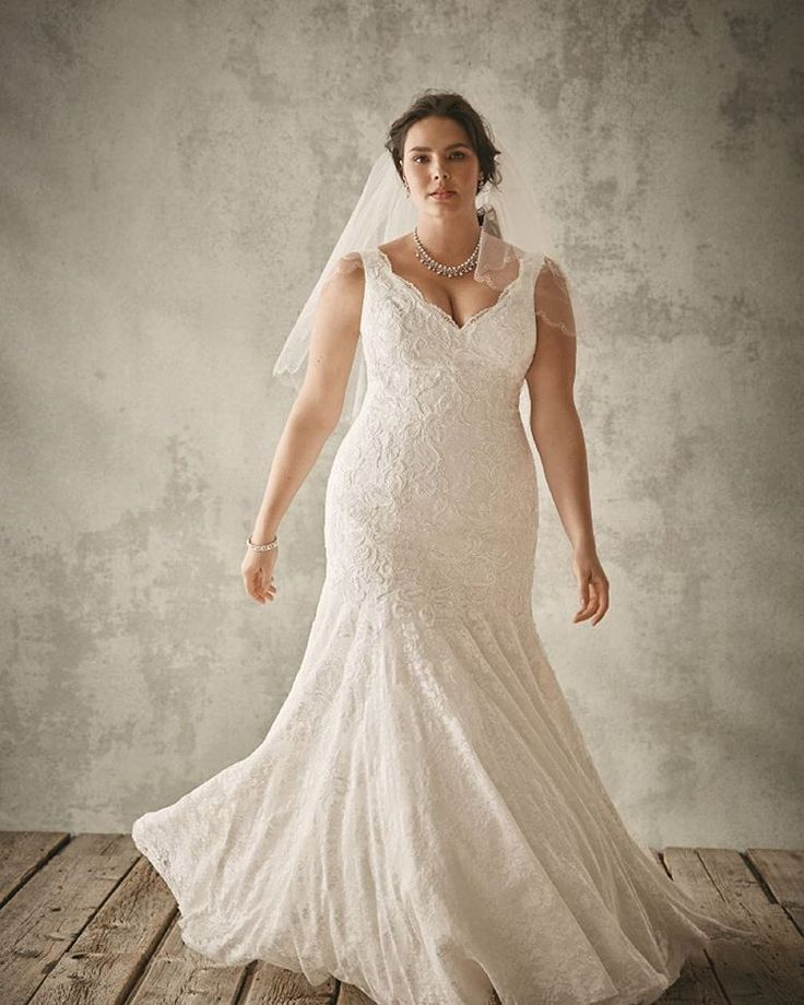 Fancy Your Jaw Will Drop When You See Who Made These Gorgeous Plus Size Wedding Gowns Finding a stylish and affordable wedding dress can definitely be a