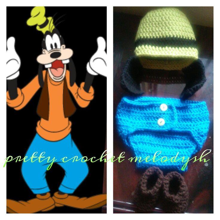 Goofy crochet