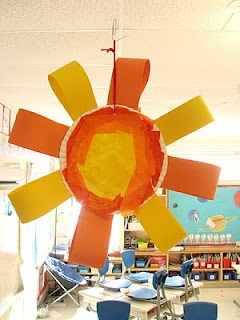 Sun Art.  Good for spring or summer project, or equinox days when day starts getting longer/ shorter...