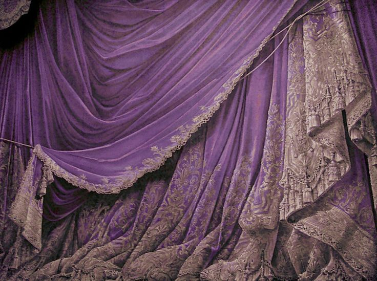 Backdrop Vintage Theater Stage Curtain - Plum by ~EveyD on deviantART