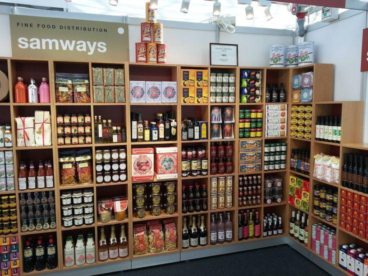 Samways Fine Food Distribution, trade show stand.