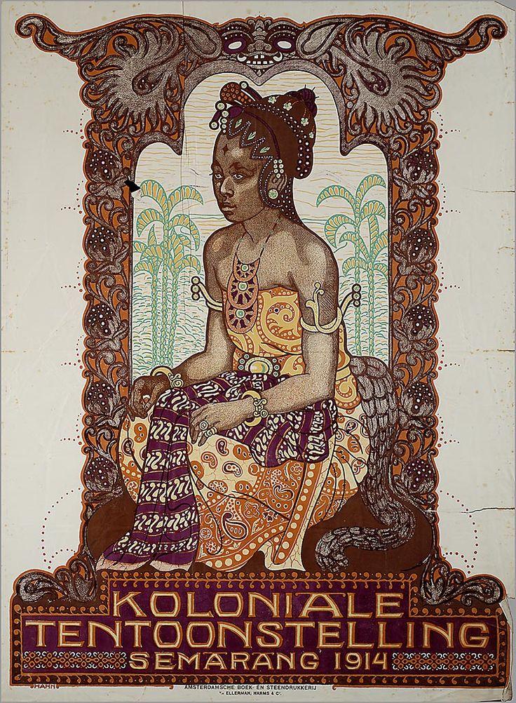 Koloniale Tentoonstelling Semarang (Java, Indonesia) 1914