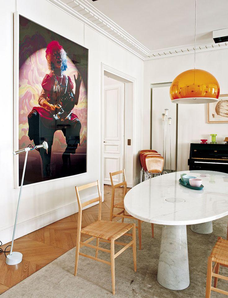 Paris Apartment by Sandra Benhamou   HomeDSGN