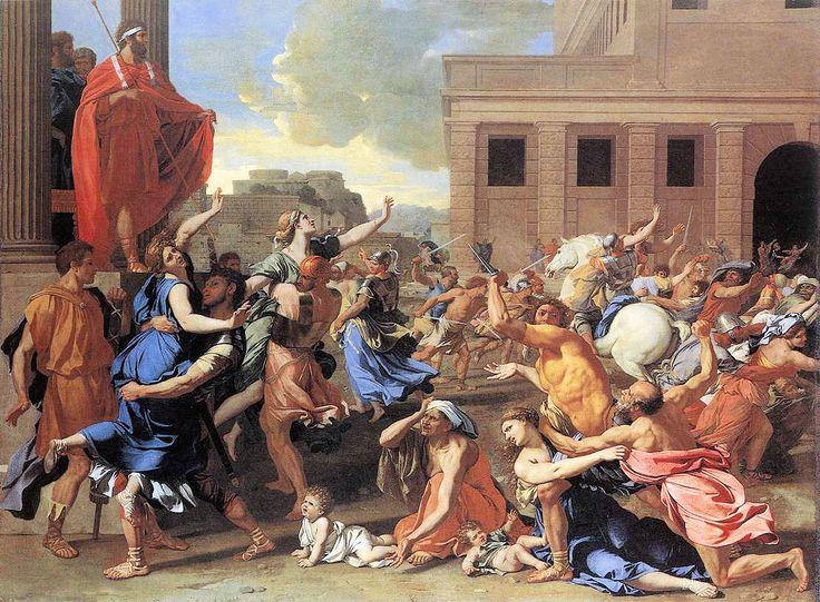 Nicolas Poussin: L'Enlèvement des Sabines (1635)