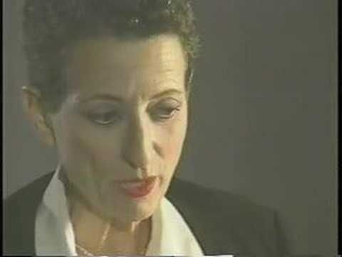 """Helene Cixous. 3 minutes in she talks about why she doesn't much like the term """"phallocentrism"""""""
