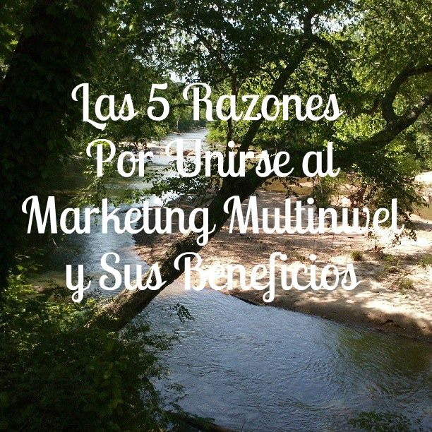 Las 5 Razones Por Unirse a Marketing Multinivel y Sus Beneficios