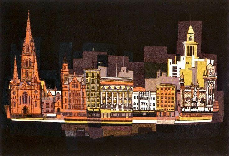 Flinders Street facades - Kenneth Jack