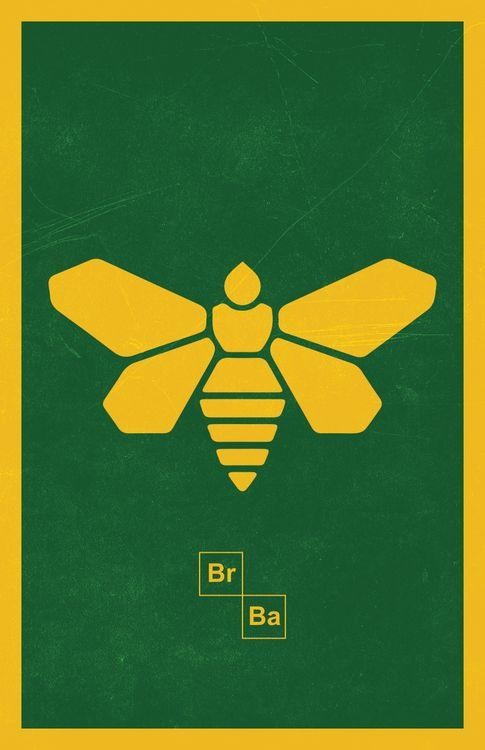 Methylamine Breaking Bad Bee T-Shirt